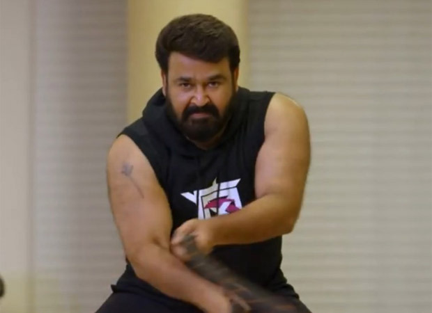 Mohanlal gives out major fitness inspiration as he shares video of his intense workout routine
