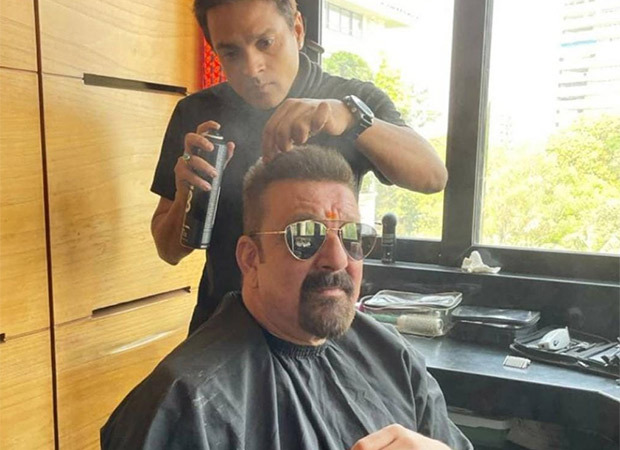 Sanjay Dutt reveals his new look; calls his hairstylist a genius