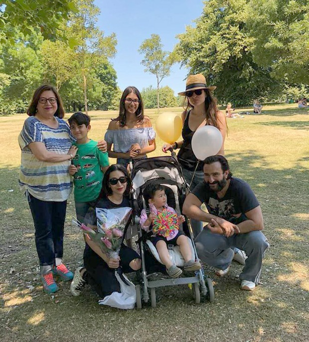 Kareena Kapoor Khan misses London, shares throwback picture with Saif Ali Khan, Taimur, Karisma Kapoor