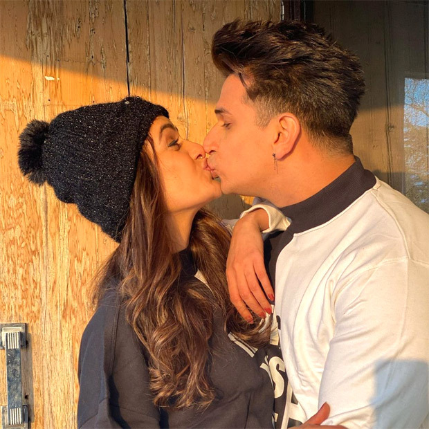 Prince Narula gives sweet kiss to wife YuvikaChaudhary in these romantic pictures