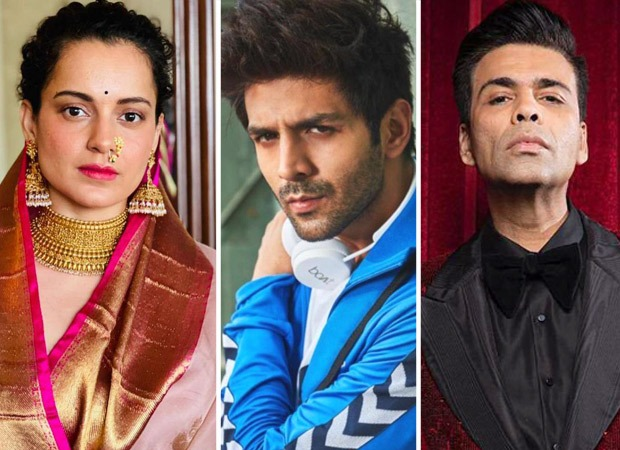 "Kangana Ranaut comments on Kartik Aaryan - Karan Johar fallout; says, ""Don't force him to hang himself"""
