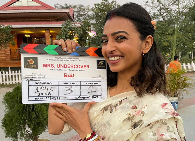 Radhika Apte shot for Mrs. Undercover at a stretch of 35 days in Kolkata