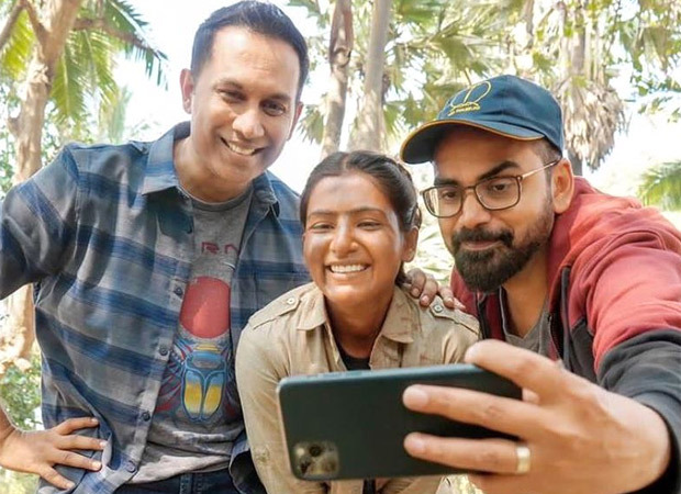 Raj and DK share a BTS picture of Samantha Akkineni as Raji from the sets of The Family Man 2