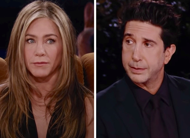 Friends: The Reunion – David Schwimmer and Jennifer Aniston having crush on each other in season 1