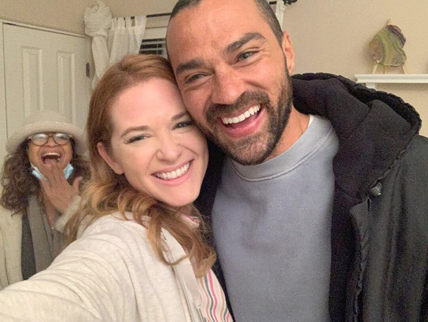 Jesse Williams reunites with Sarah Drew in Grey's Anatomy; actor leaving the series after 12 seasons on May 20