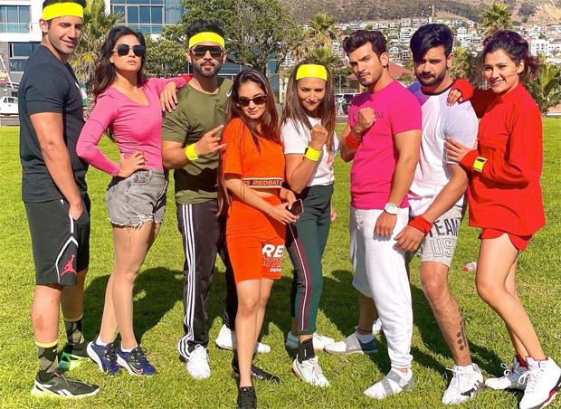 Khatron Ke Khiladi 11 Divyanka Tripathi, Rahul Vaidya, Arjun Bijlani, Shweta Tiwari, Anushka Sen among others play Rugby (2)
