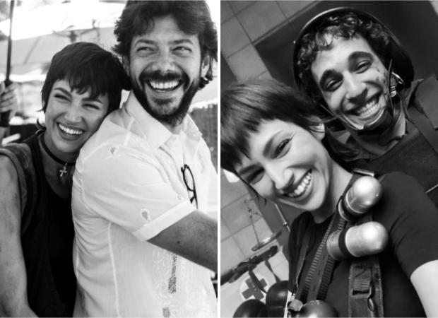 Money Heist'sÚrsula Corberó shares pictures withÁlvaro Morte,Miguel Herrán,Alba Flores as she wraps season 5