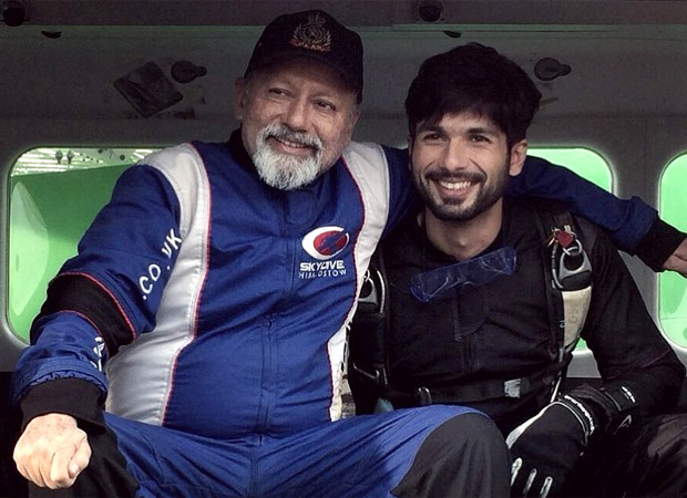 Shahid Kapoor shares a picture with father Pankaj Kapur to wish him on his 67th birthday