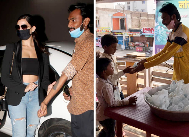 Nora Fatehi's fan who got her face tattooed donates free food in her name