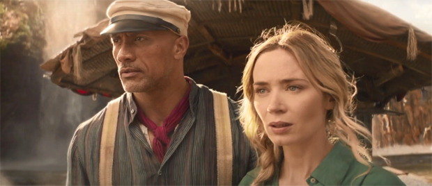 Dwayne Johnson and Emily Blunt face innumerable dangers and supernatural forces in Jungle Cruise trailer