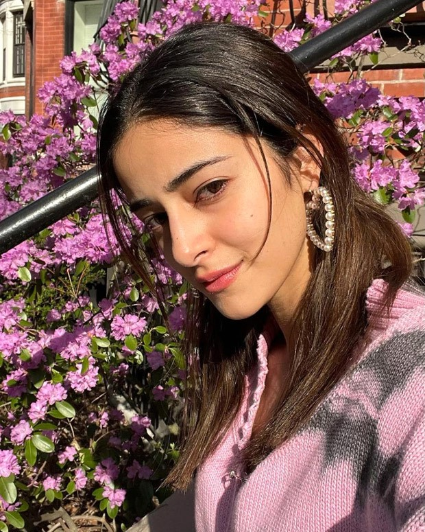 Ananya Panday pairs a tie-dye cardigan with Christian Dior bag worth Rs. 2.8 lakh