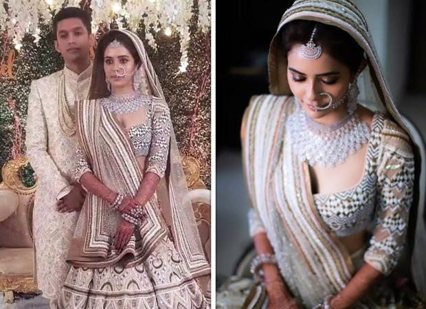 INSIDE PICTURES: Divya Drishti actress Sana Sayyad looks ethereal in embellished lehenga as she marries Imaad Shamsi