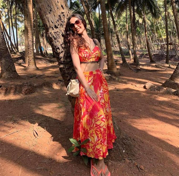 Mohit Sehgal clicks stunning pictures of Sanaya Irani in summery floral co-ord set