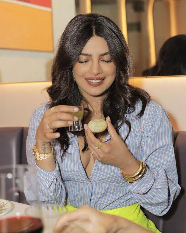 Priyanka Chopra relishes paani puri and dosa at her New York restaurant