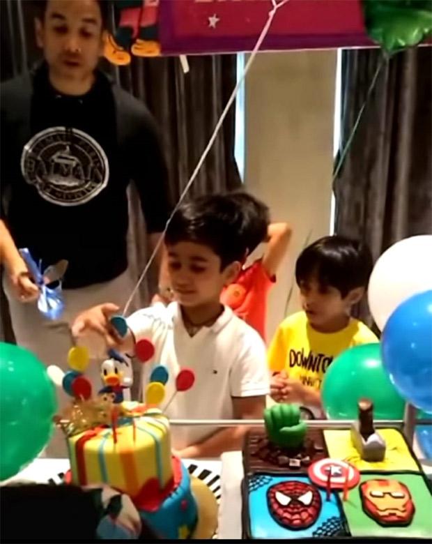 Tusshar Kapoor shares video from son Laksshya's birthday; Ekta Kapoor pens a sweet note