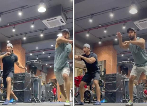 Vicky Kaushal shares a glimpse of Brazilian martial art Capoeira training