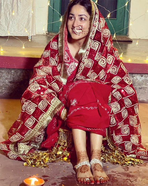 Inside Yami Gautam's simple and intimate Haldi Ceremony