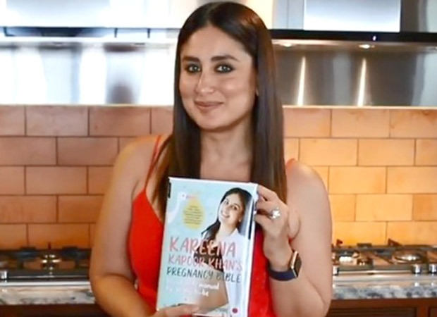 Kareena Kapoor Khan gives a glimpse of her bookPregnancy Bible, shares picture of an ultrasound