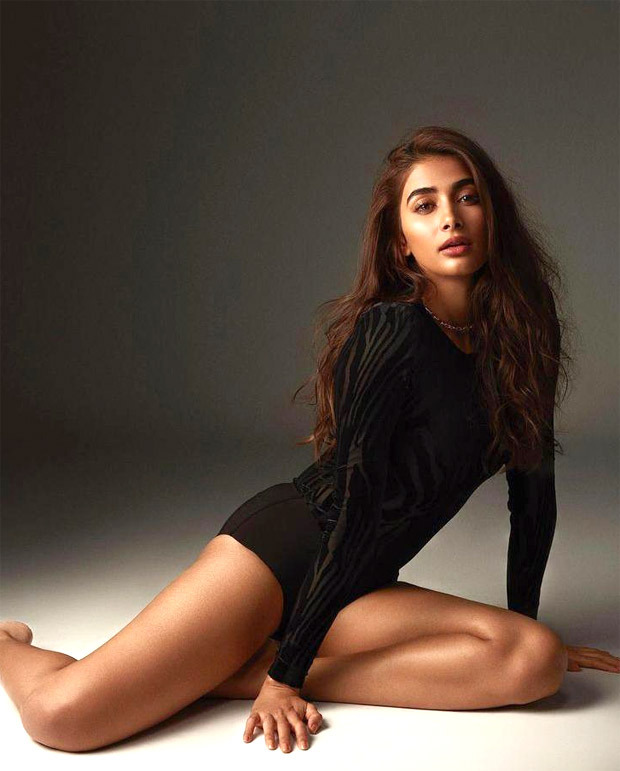 Pooja Hegde raises the temperature in black top and shorts