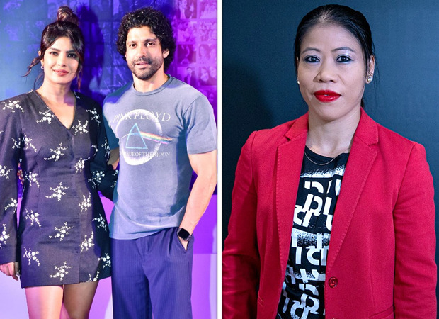 "Priyanka Chopra and Farhan Akhtar praised Mary Kom as a ""champion"""