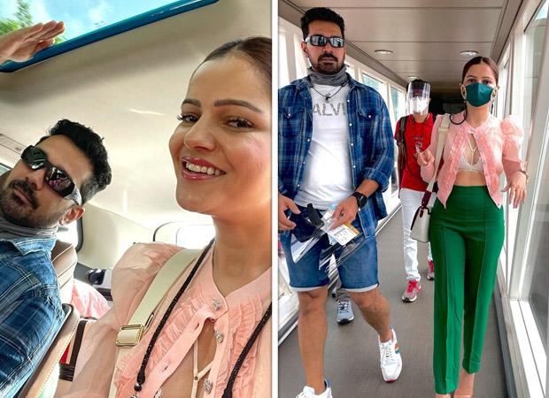 Rubina Dilaik and Abhinav Shukla fly together after 2 months 20 days to Punjab