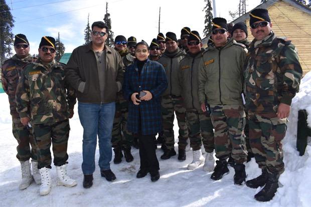 A Military firing range in Kashmir named after Vidya Balan