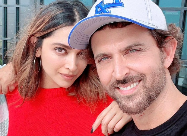 Hrithik Roshan shares pictures with Fighter co-star Deepika Padukone; says the gang is ready for take-off