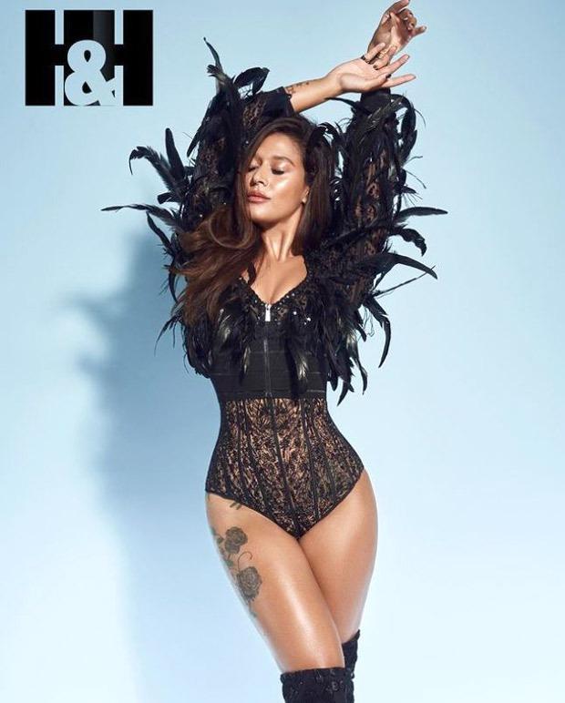 Krishna Shroff makes a sensuous statement in a black bodysuit