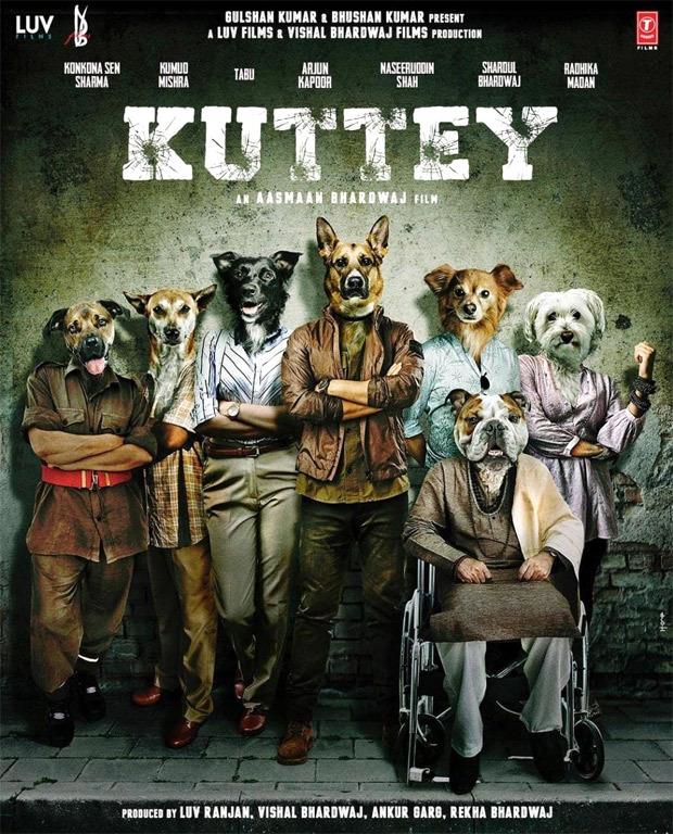 Arjun Kapoor, Konkona Sen Sharma, Naseeruddin Shah, Radhika Madan, Tabu to star in Kuttey