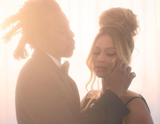 Beyonce becomes the first black woman to wear Tiffany diamonds as she poses for the new campaign with Jay Z (1)