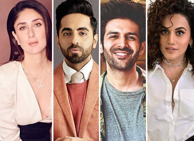 Kareena Kapoor Khan, Ayushmann Khurrana, Kartik Aaryan, Taapsee Pannu among others to come together for a project