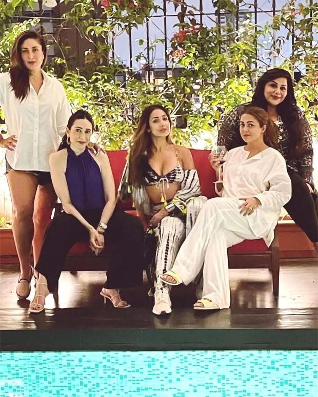 Kareena Kapoor Khan shares a glamorous picture with Malaika Arora, Amrita Arora and Karisma Kapoor