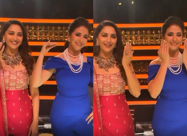 Madhuri Dixit celebrates 30 years of Saajan on Dance Deewane 3; perform 'Tu Shayar Hai' with Urmila Matondkar