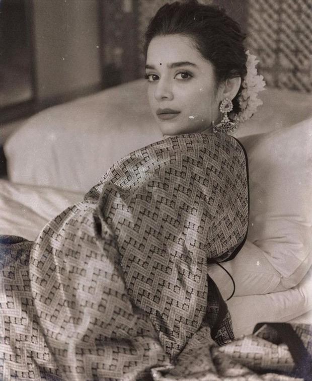 Mithila Palkar looks royal in a silk saree from Raw Mango worth Rs.42,800
