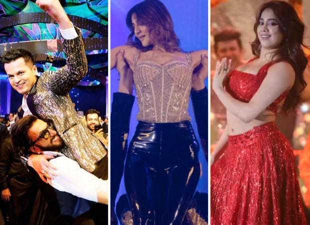 Ranveer Singh, Janhvi Kapoor, and Vaani Kapoor lit up the stage at singer Shrey Singhal's pre-wedding function