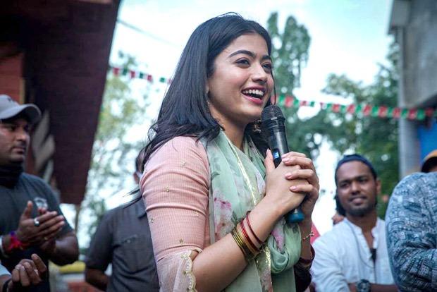 Rashmika Mandanna wraps up the shoot of her Bollywood debut Mission Majnu