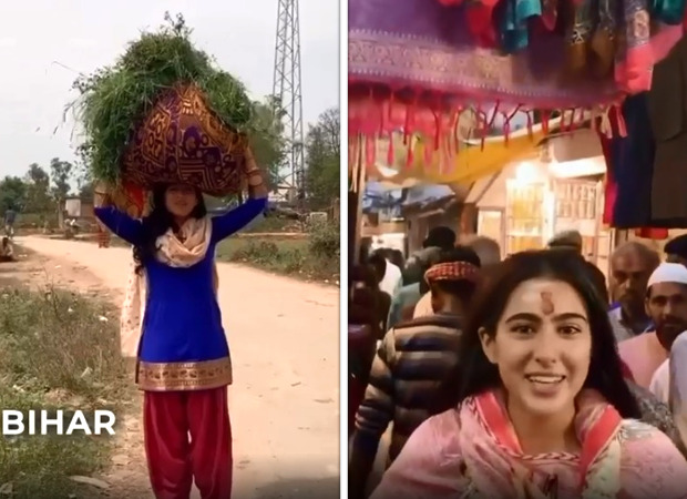 Sara Ali Khan takes her fans from Delhi to Bihar in her travel video, watch