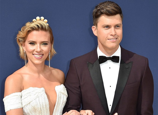 Scarlett Johansson is pregnant, husband Colin Jost reveals during a standup set