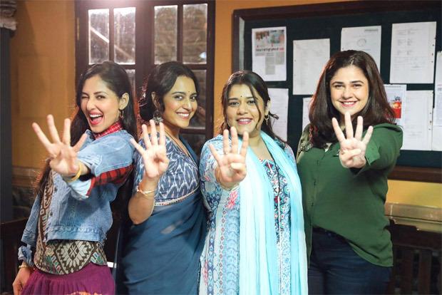 Swara Bhasker, Shikha Talsania, Meher Vij and Pooja Chopra resume shoot of Jahaan Chaar Yaar