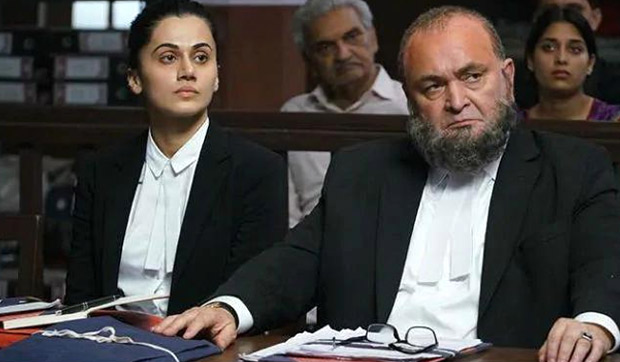 Taapsee Pannu remembers late Rishi Kapoor as Mulk completes its 3 years today