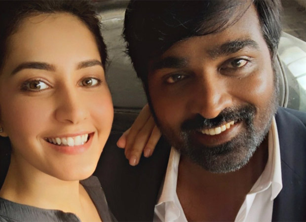 Vijay Sethupathi begins shoot for Raj and DK's web series; Raashi Khanna shares picture from the sets