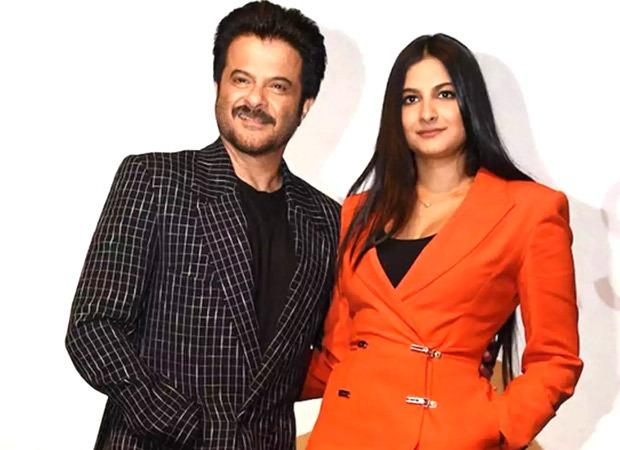 Anil Kapoor shakes a leg with Rhea Kapoor on 'Abhi Toh Party Shuru Hui Hai' at her wedding party