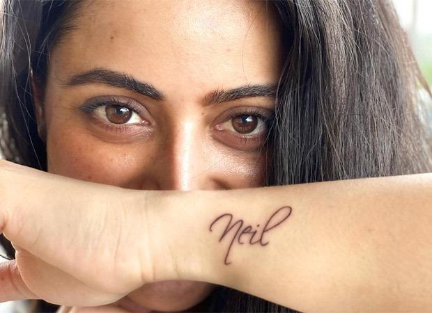 Aishwarya Sharma AKA Pakhi of Ghum Hai Kisikey Pyaar Mein inks fiancé Neil Bhatt's name on her wrist, surprises him on his birthday