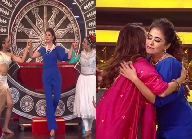 As Urmila Matondkar performs, Madhuri Dixit couldn't help but dance in her seat on the song Aa Hi, Jaiye in an upcoming episode of Dance Deewane