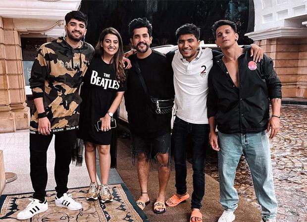 Bigg Boss OTT: Eliminated contestants Millind Gaba and Akshara Singh reunite with Zeeshan Khan