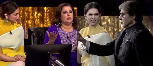 KBC 13: Amitabh Bachchan adds a funny twist to Deepika Padukone's 'Ek chutki sindoor'