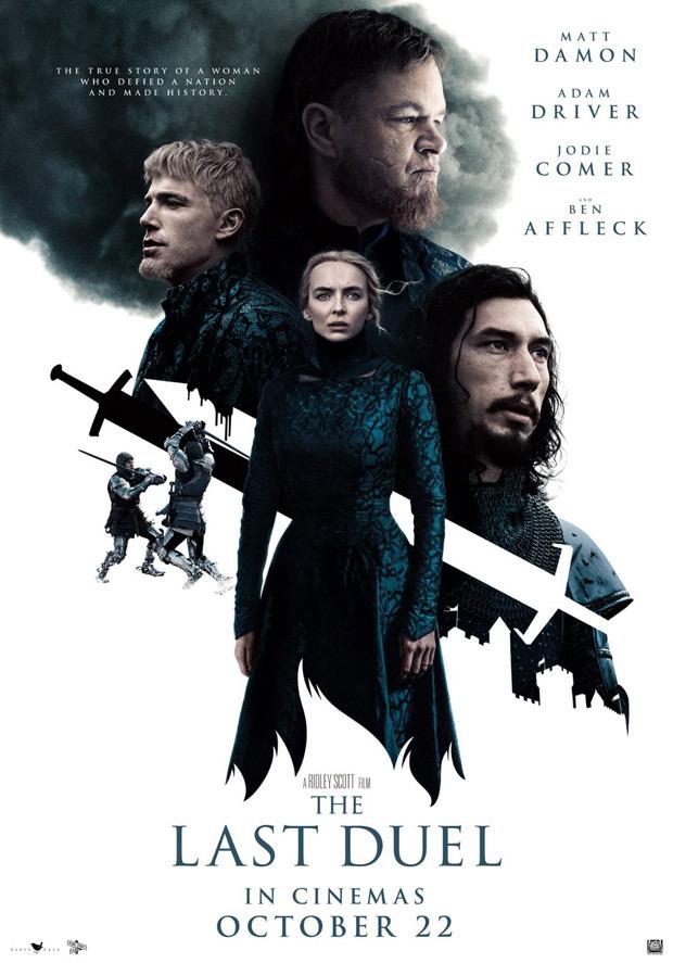 Matt Damon, Adam Driver, Jodie Comer and Ben Affleck starrer The Last Duel to release in theatres on October 22