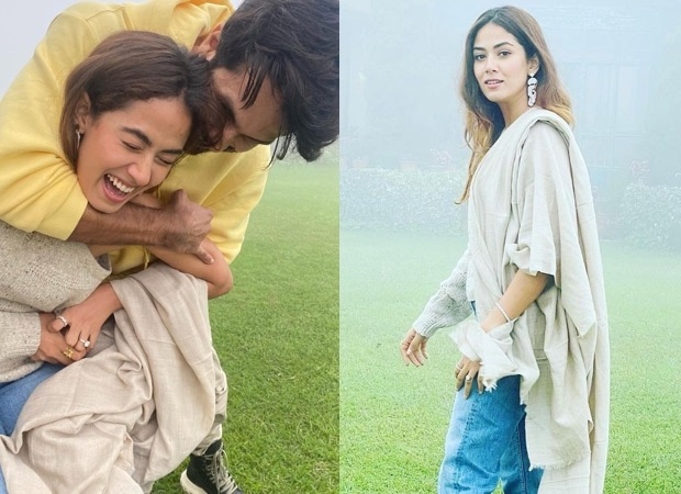 Mira Rajput's 27th birthday celebration Beautiful weather, loads of flowers, and a garden picnic