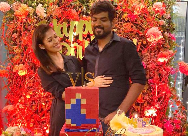 Nayanthara and fiancé Vignesh Shivan visits Tirumala Tirupati temple