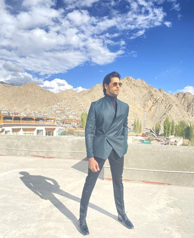 Sidharth Malhotra looks dapper as he attends the first Himalayan Film Festival in Leh